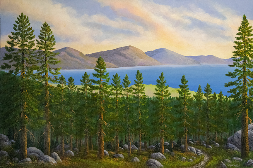 TAHOE DREAMS oil painting by Frank Wilson
