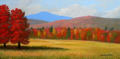 """Vermont Haven"" oil painting by Frank Wilson"