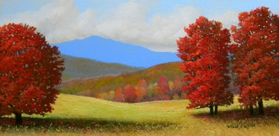 """Early September"" oil painting by Frank Wilson"