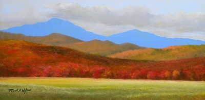 """Vermont Autumn Vista"" oil painting by Frank Wilson"