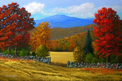 """The Stone Gate In Autumn"""