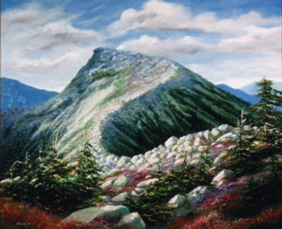 landscape painting, Mountain Ridge, oil painting by Frank Wilson